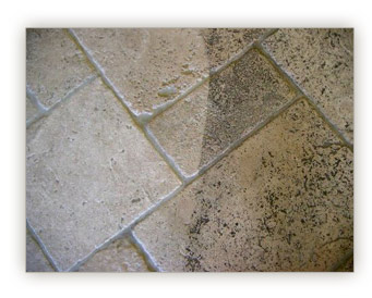 DRY ECO TILES AND GROUT CLEANING WORKS GREAT!!!
